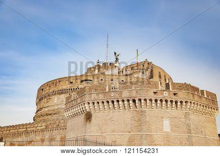 Castel Sant Angelo Of Rome
