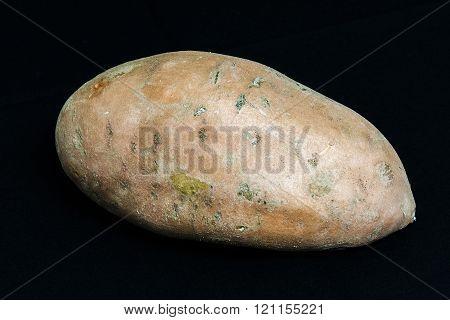 Sweet Potato On Black