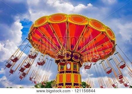 Colorful Swing Ride