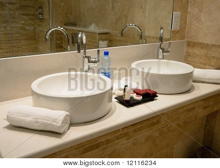 Tap And Marble Sink