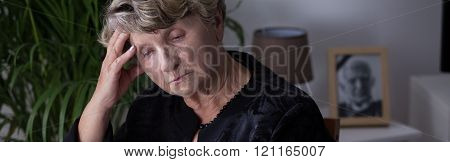 Depressed After Death Of Husband