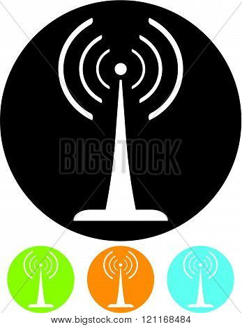 Broadcasting - Vector illustration isolated