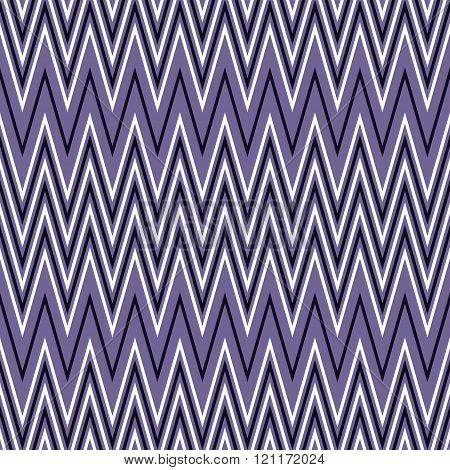 Seamless Pattern Of Horizontal White And Purple Zigzag