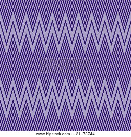 Elegant Seamless Pattern Of Horizontal Violet Zigzag
