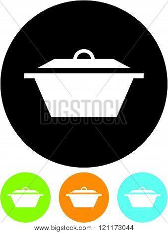 Casserole pan dish