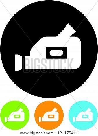 Video camera - vector icon