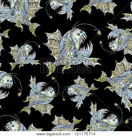 Creative Anglerfish Pattern