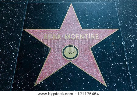 Reba Mcentire Hollywood Star