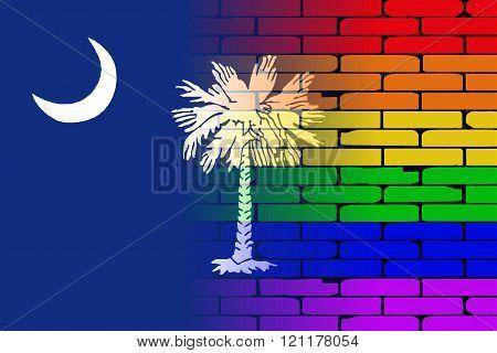 Rainbow Wall South Carolina
