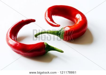 Chili Pepper (also Chile Pepper Or Chilli Pepper)