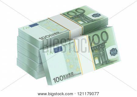Packs Of 100 Euro