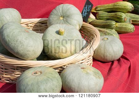 Fresh Stella Squash - Vegetables At Market