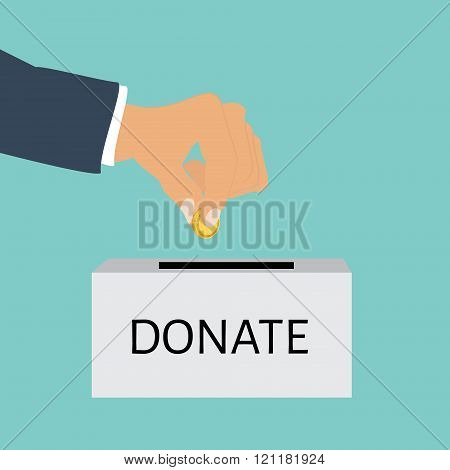 Charity Concept Vector