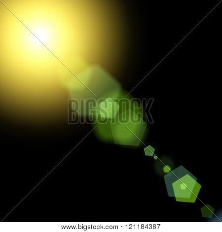 Sun And Sun Rays