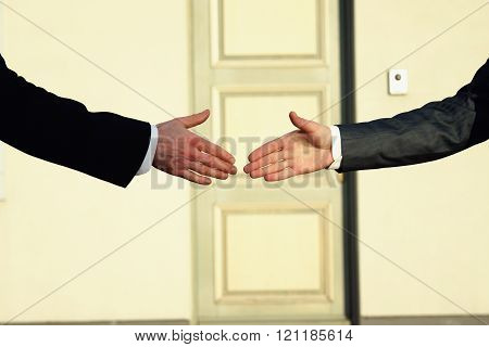 Greeting handshake