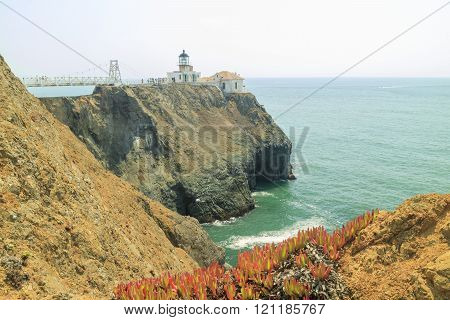 The Famous Point Bonita Lighthouse