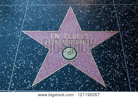 Englebert Humperdinck Hollywood Sign
