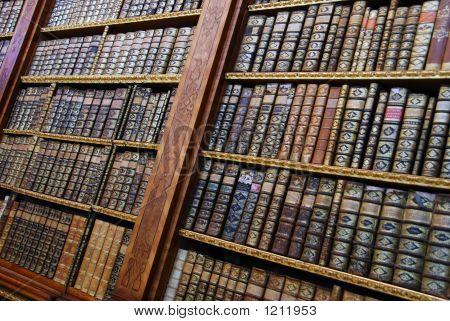 Ancient Bookshelves