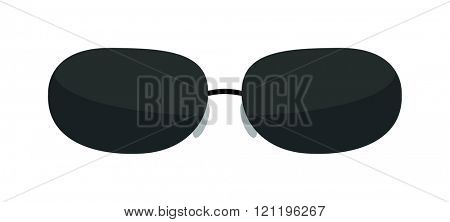 Vector fashion glasses isolated on white. Fashion glasses. Hipster fashion glasses. Summer  fashion glasses vector illustration. Sunglasses isolated vector illustration. Glasses isolated flat