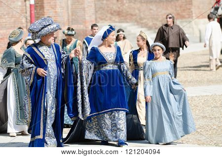 Family Of Nobles Of The Middle Ages