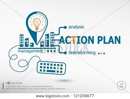 Action Plan And Marketing Concept.