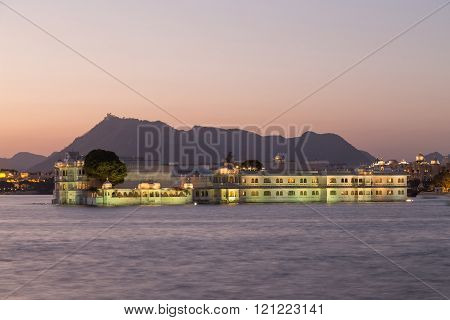 Udaipur City Palace in Rajasthan state of India