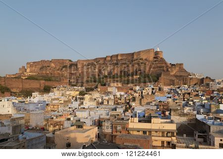 Jodhpur city in Rajasthan, India