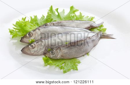 Salted Fish With Lettuce