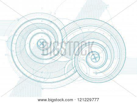 Double Twirls Linedraft