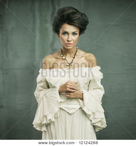 Delicate woman