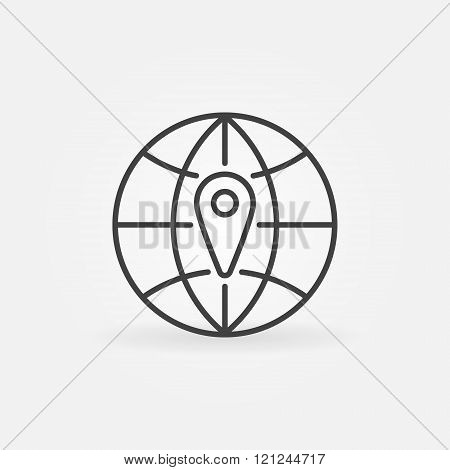 Navigation minimal icon
