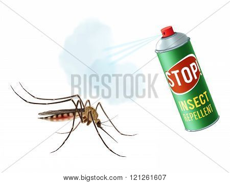 Anti mosquito spray