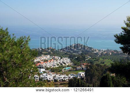 Benalmadena coastline.