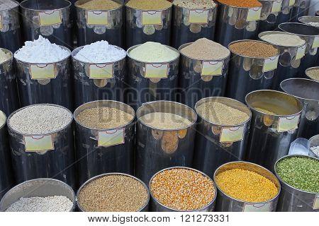 Grains Market Stall