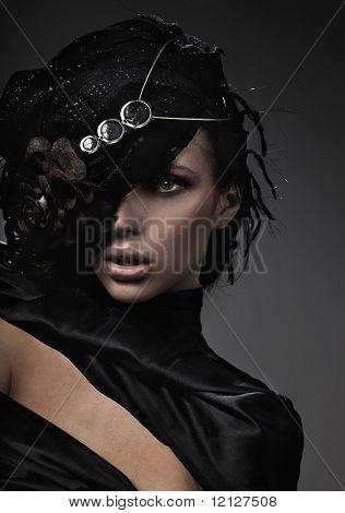 Fine Art Foto einer Mode-Dame