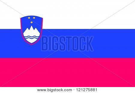 Slovenian Flag.