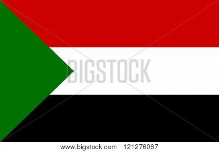 Sudanese Flag.