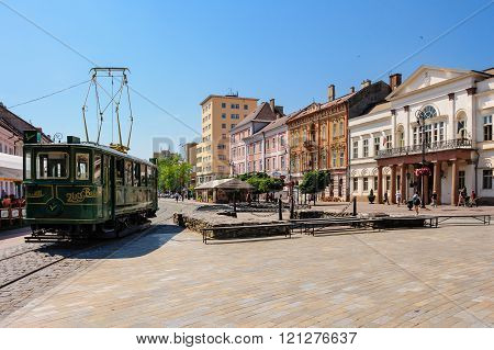 Kosice street car tram