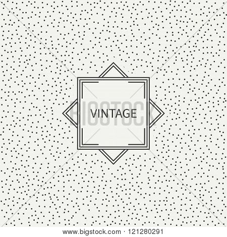 Polka dot. Geometric monochrome abstract pattern with round, dotted circle. Wrapping paper. Scrapboo