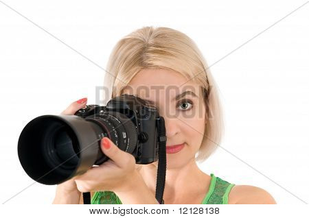 La señora - fotógrafo