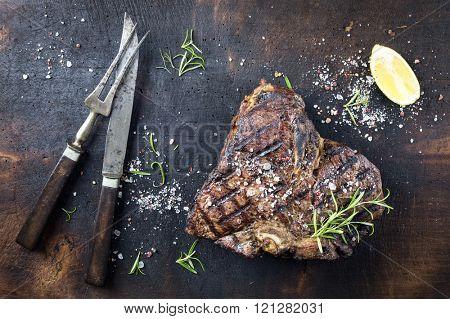 Dry Aged Barbecue Bistecca alla Fiorentina