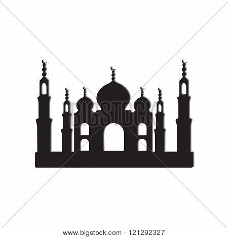 Taj Mahal Temple icons