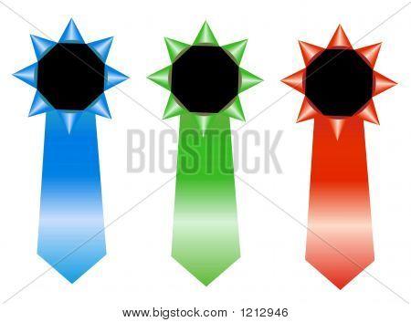 Rosetas de RGB - ganador de la cinta