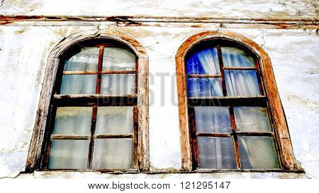 Picture of an Old architecture of Ohrid Macedona