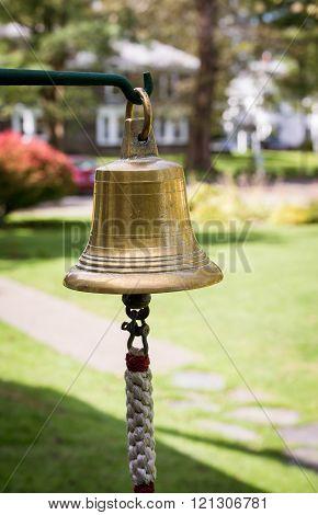 bright brass bell