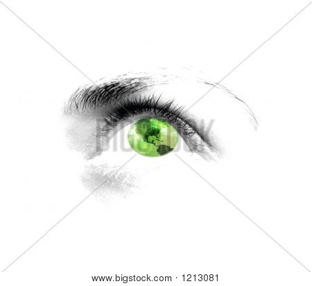 Green Eye - Vision Of The World