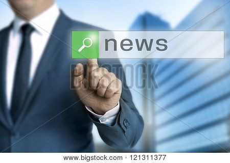 News Browser Is Operated By Businessman