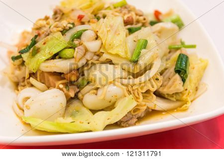 Fried Thai Mama Instant Noodles,spicy Noodle