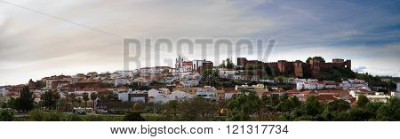 Silves Panorama And Castle