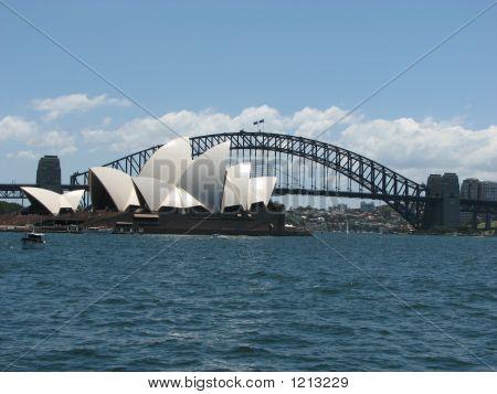 Sydney Opera Houseandharbour Brücke 006